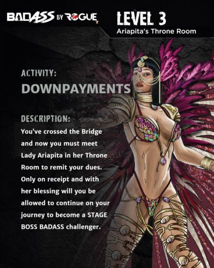 LEVEL 3: Ariapita's Throne Room